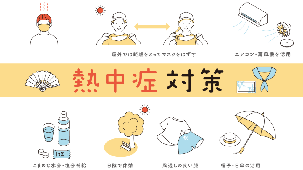 Read more about the article 【 STOP!熱中症 】熱中症について知ろう!予防しよう!
